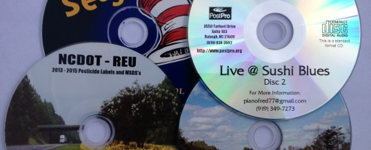 CD, DVD & Blu-Ray with Full-Color Thermal or Black Thermal Print