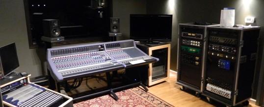 Studio A – Control Room