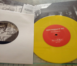 The Insurgence on YELLOW VINYL!!! How cool is that?
