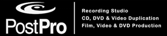 Logo Post Pro Recording Studio Video Transfer & Duplication in Raleigh NC