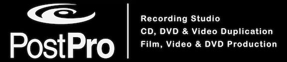 Logo Post Pro Recording Studio Video Transfer & Duplication in Raleigh NC